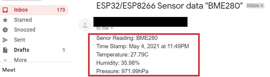 Send Sensor Readings via Email IFTTT Micropython ESP32 ESP8266