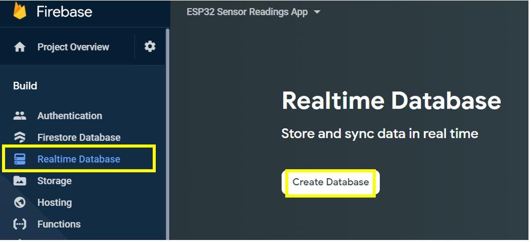 ESP32 Google Firebase build your own app 7