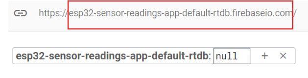 ESP32 Google Firebase build your own app 8