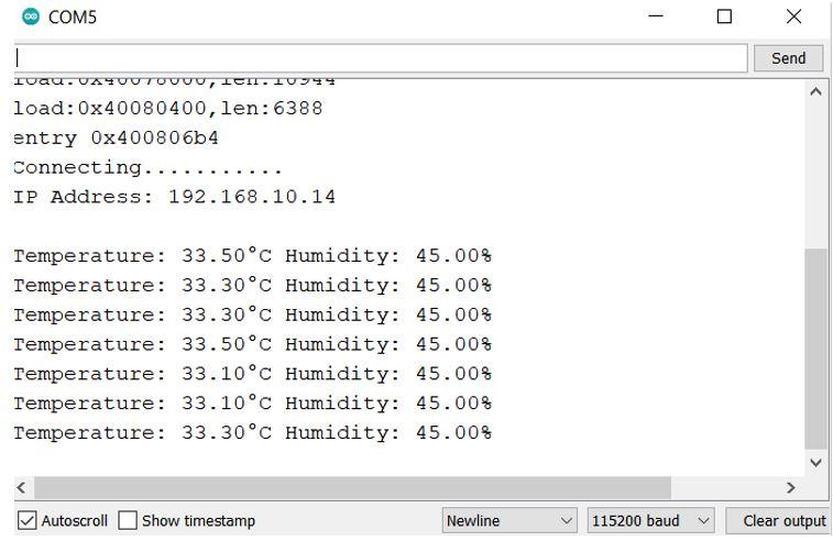 ESP32 Google Firebase build your own app demo serial monitor