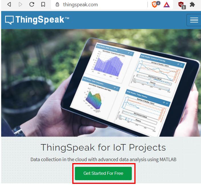 ESP32 ESP8266  HTTP ThingSpeak get started
