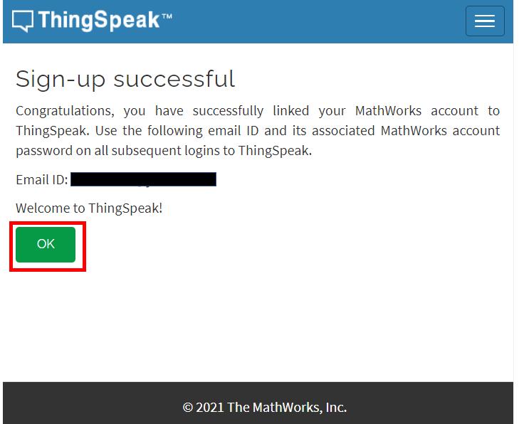 ESP32 ESP8266  HTTP ThingSpeak account successful