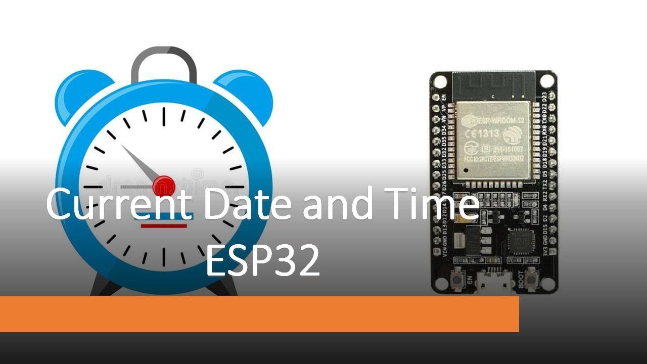 Getting Date and Time with ESP32 on Arduino IDE (NTP Client)