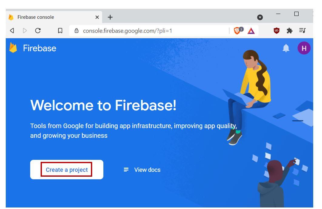 Google Firebase Getting Started no2