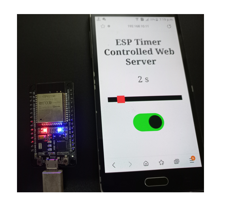 Timer Web Server demo2