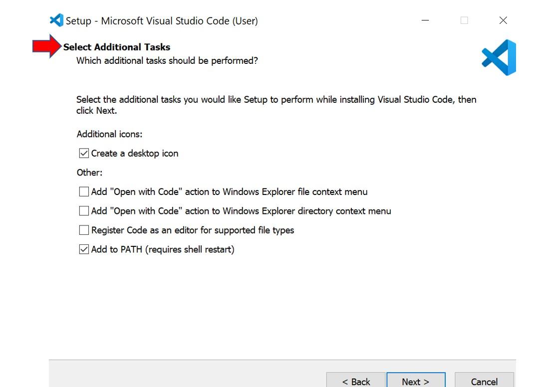 VS Code installation 4