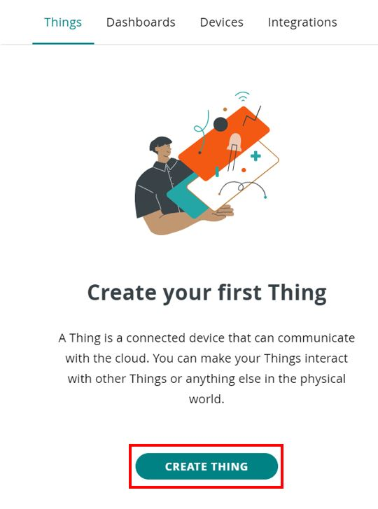 Arduino IoT cloud getting started 5