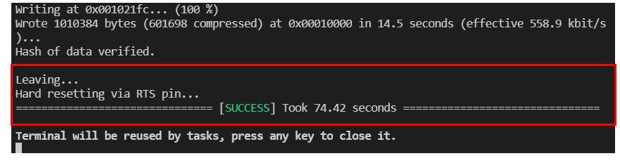 ESP32 OTA Updates VS Code Example1 pic4