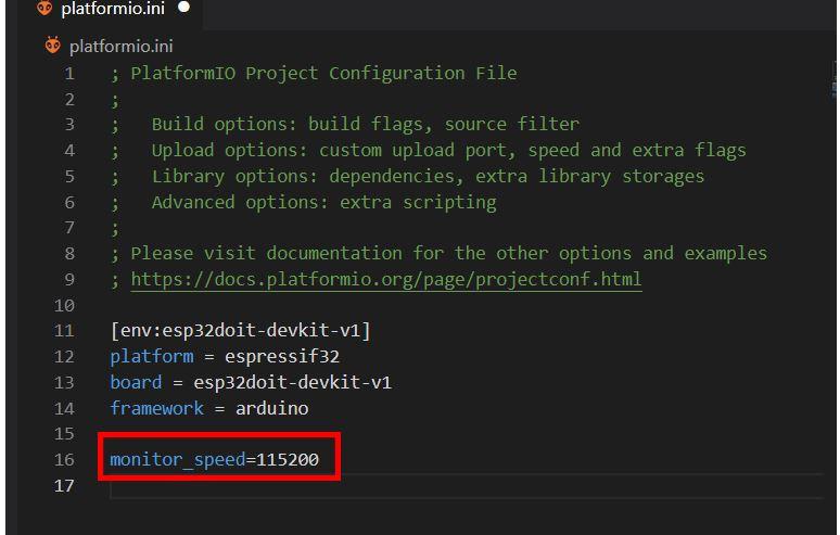 VS Code with PlatformIO 11