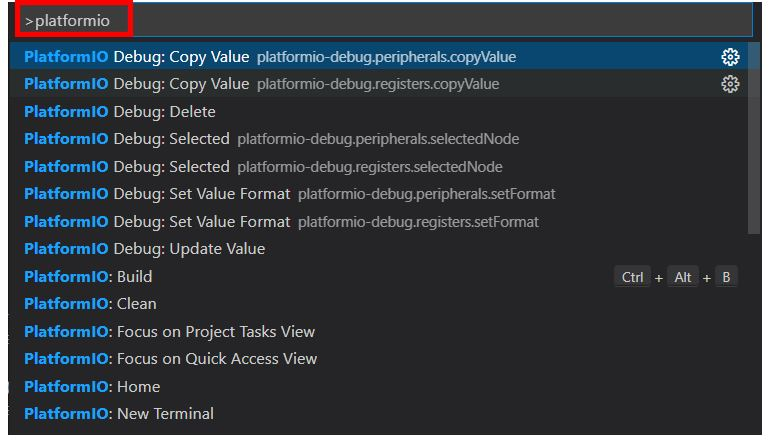 VS Code with PlatformIO 13