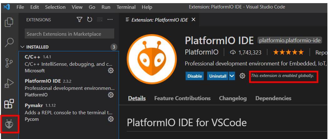 VS Code with PlatformIO 4