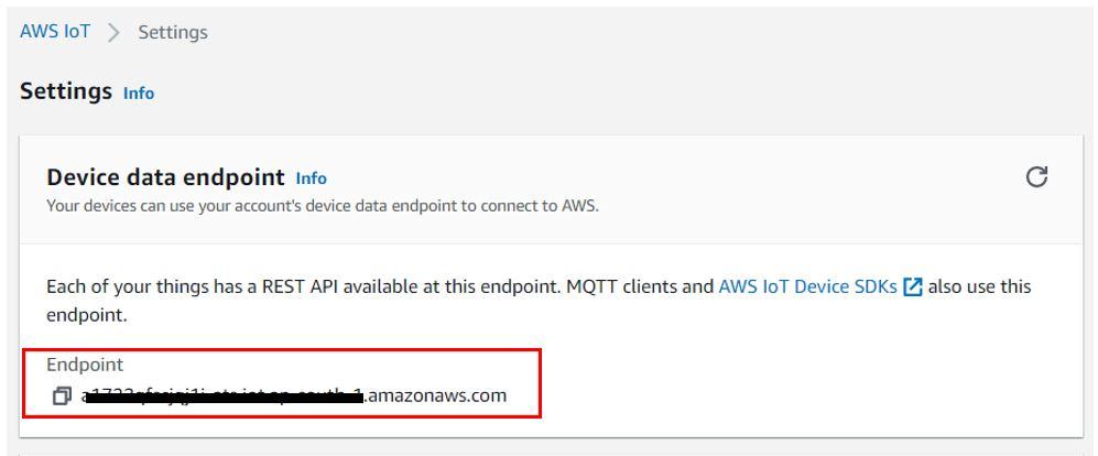 AWS host name