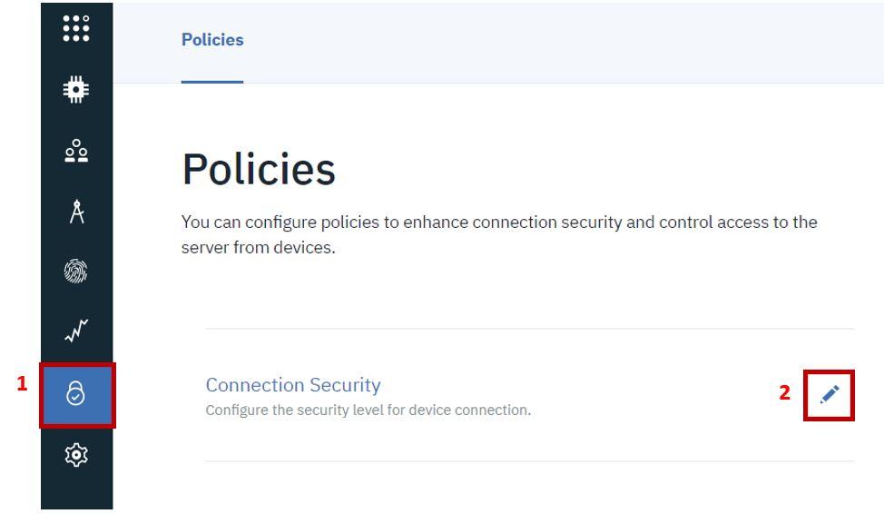 IBM cloud platform connecting device pic1