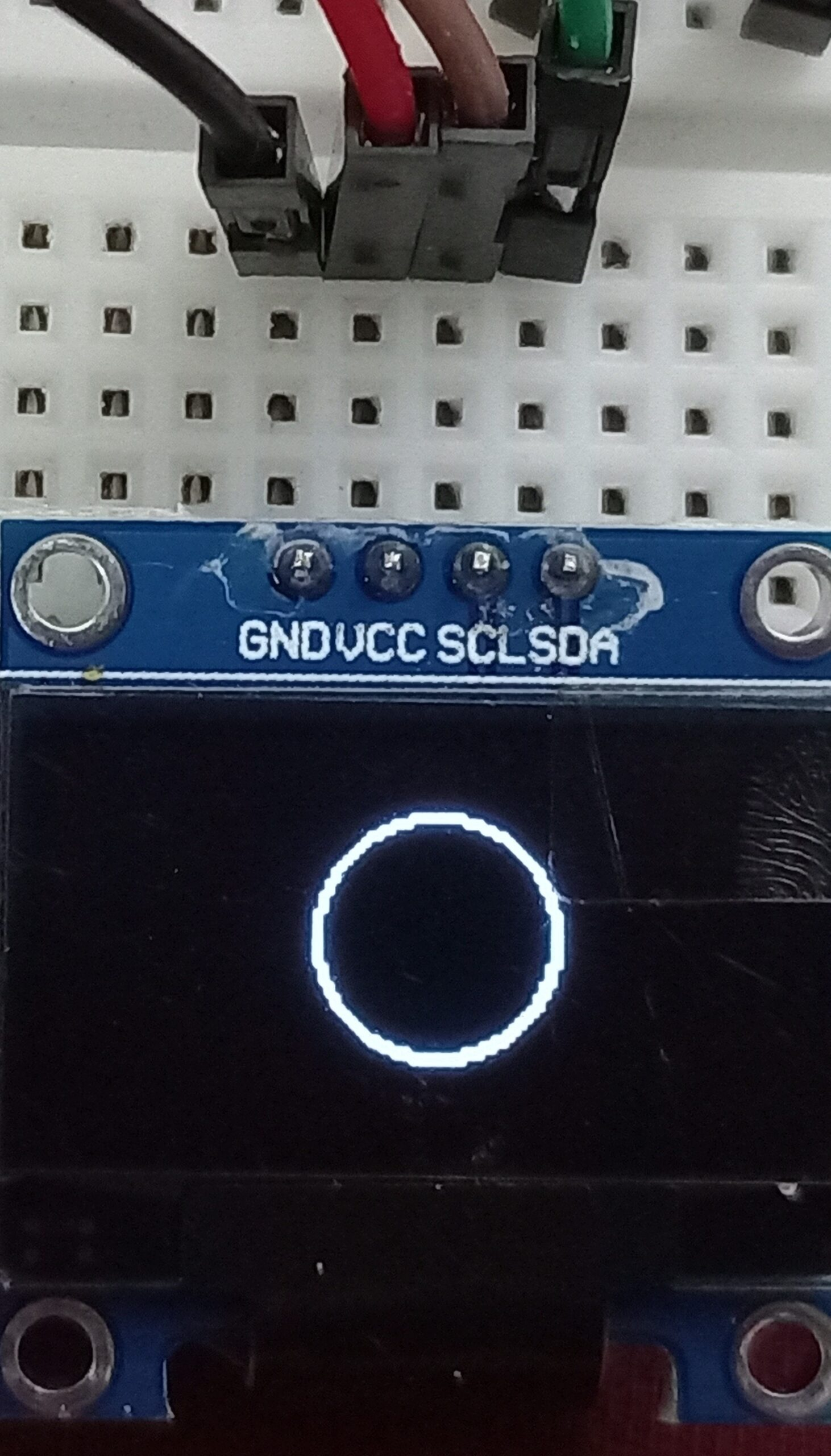 OLED display circle