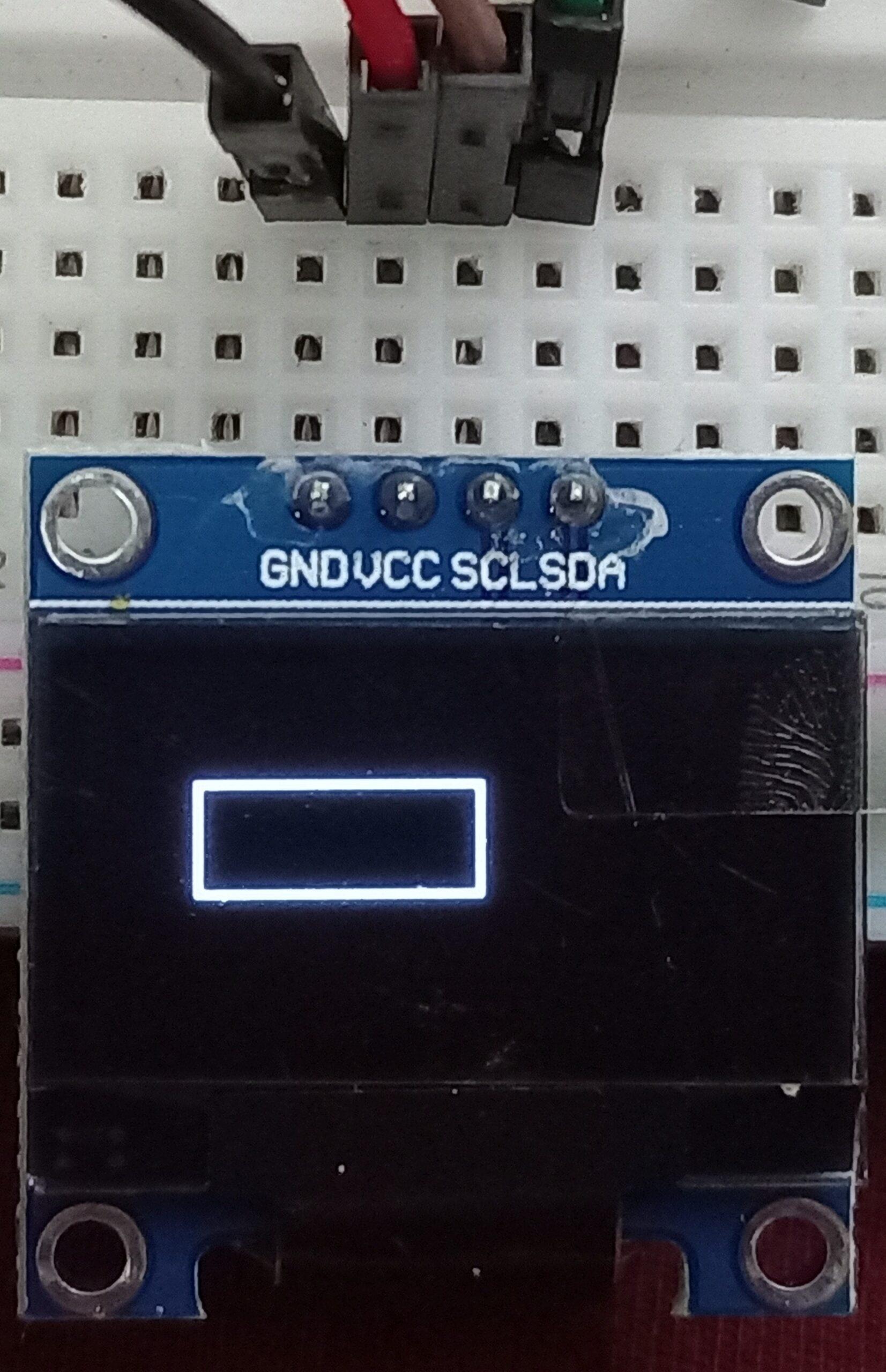 OLED display rectangle