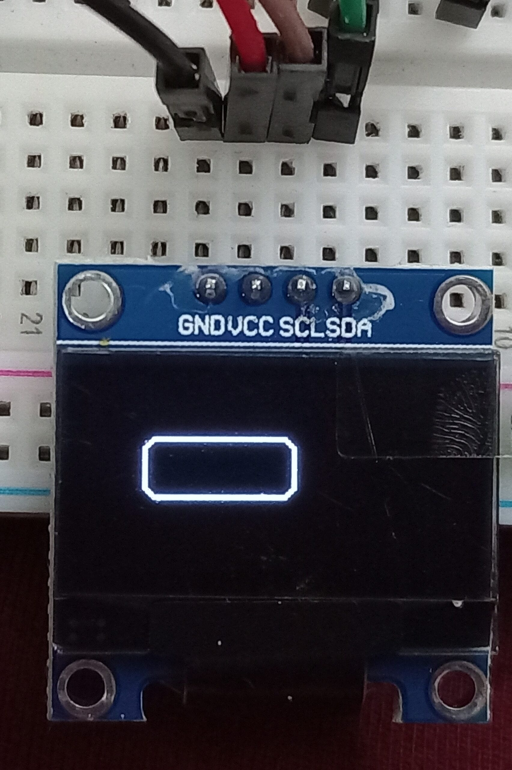 OLED display rounded rectangle