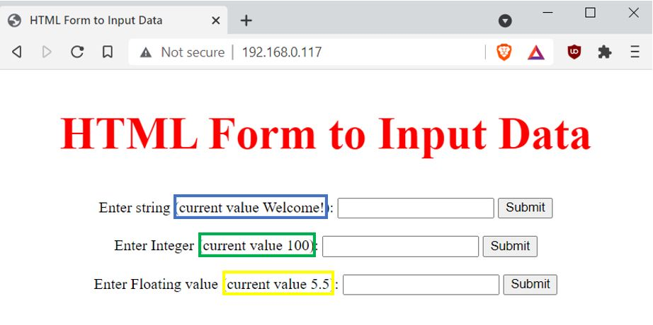 input data on HTML form web server Example2 pic5