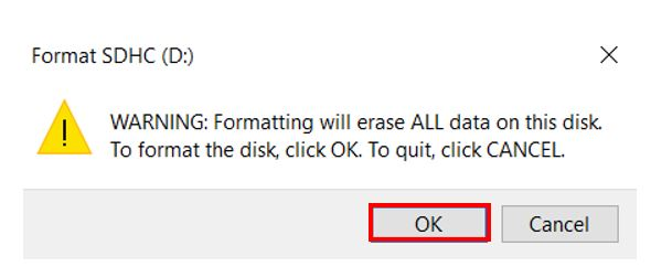microSD card formatting pic3