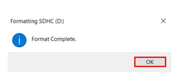 microSD card formatting pic4