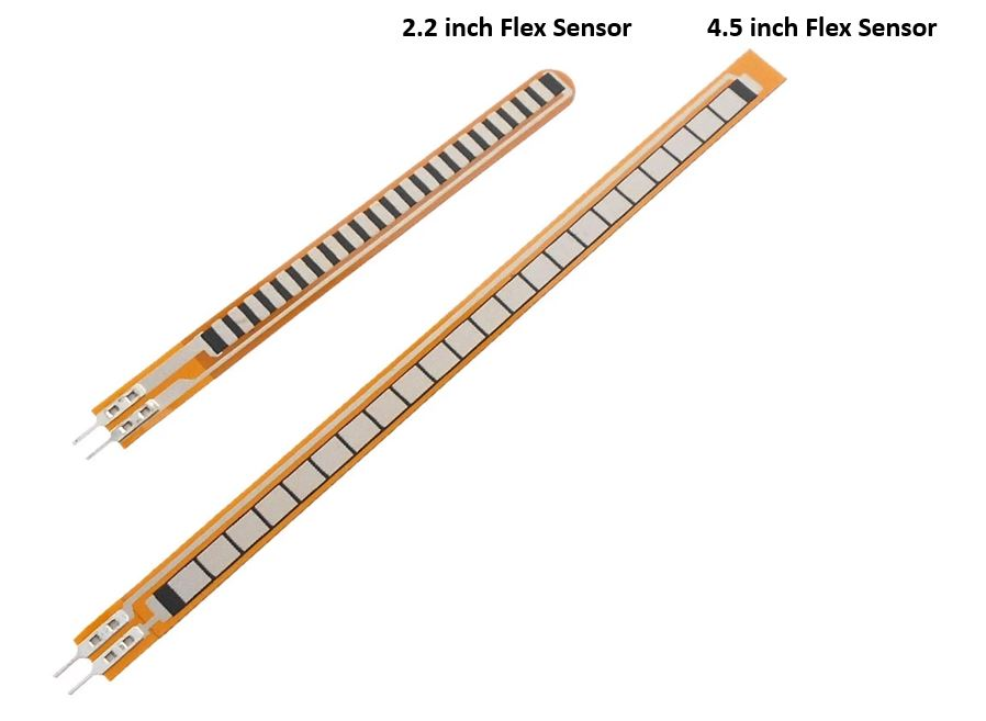 Flex sensor types