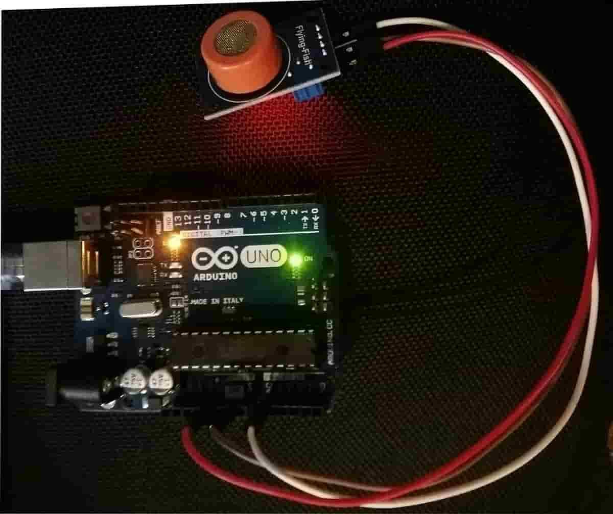 MQ3 Alcohol Sensor Module Arduino