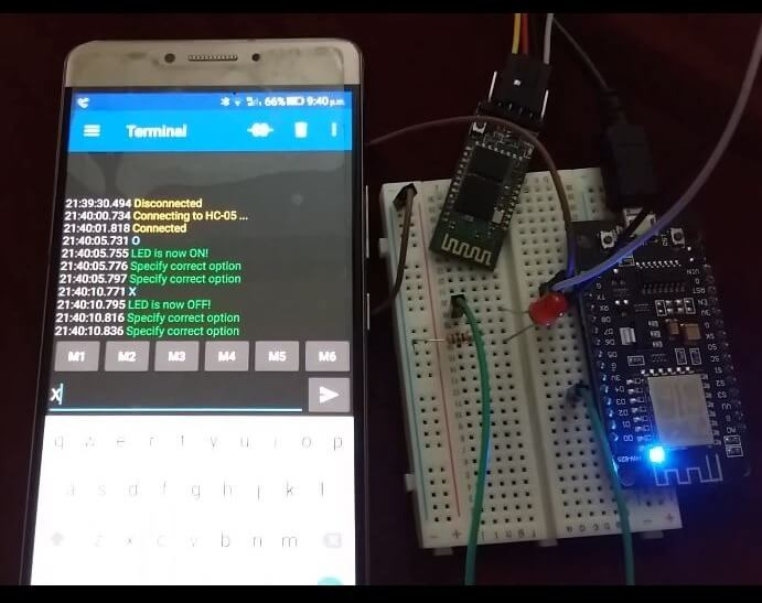ESP8266 with HC-05 demo pic2