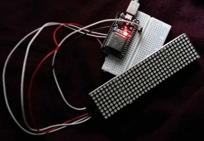 esp32 internet clock using arduino ide